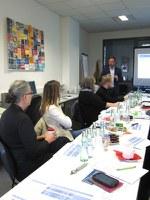 Sitzung Projektbeirat - Stand im Projekt